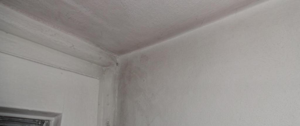 Fogging bzw. Schwarzstaubablagerungen an der Wand