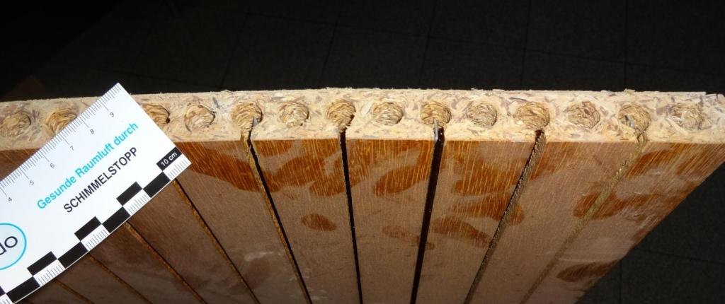 Formaldehyd in Röhrenspanplatten
